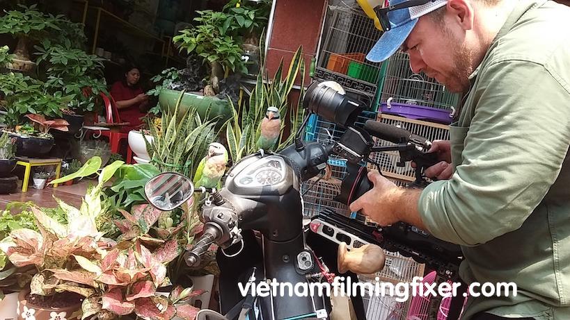 filming in Hanoi vietnam