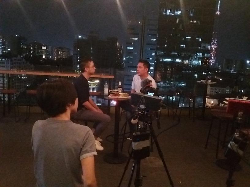 "Filming ""The Millennial Investor"" in Vietnam"