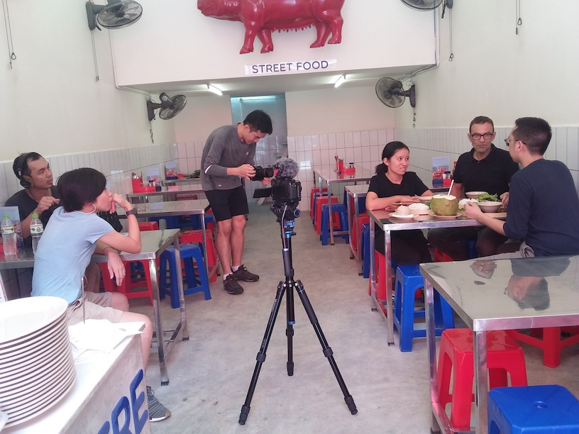 "Filming ""The Millennial Investor"" in Vietnam"