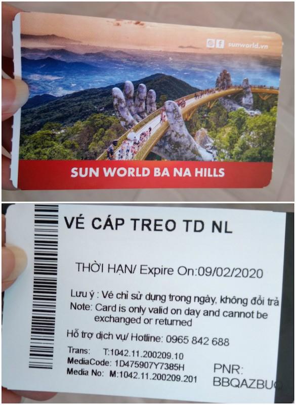 Bana hill ticket