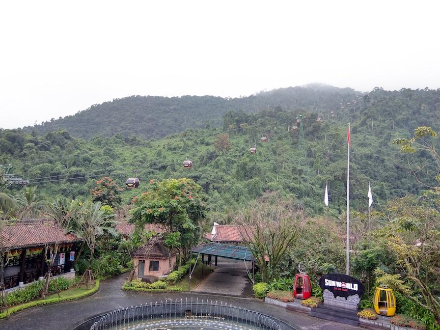cable car Bana hills