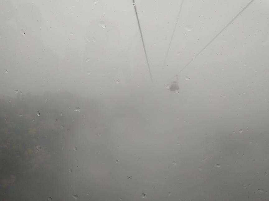 foggy at Bana hills