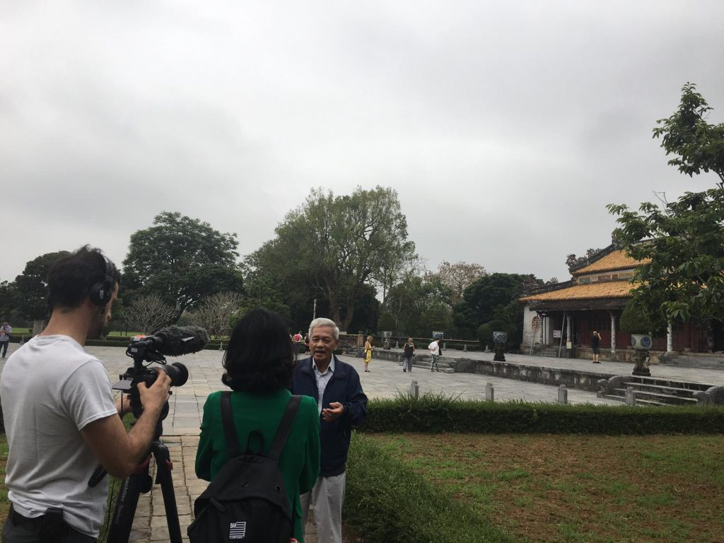 filming interpreter vietnam