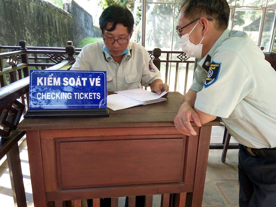 Filming in Hue Vietnam