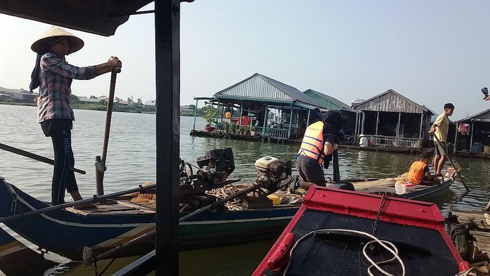 filming at Chau Doc, An Giang