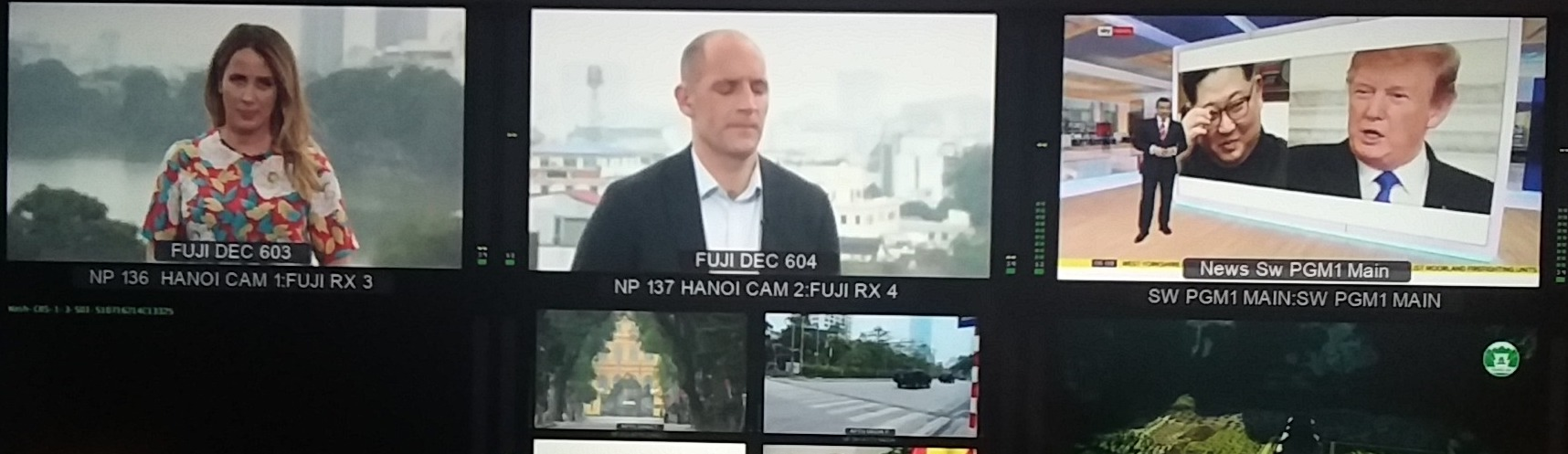live broadcasting hanoi vietnam