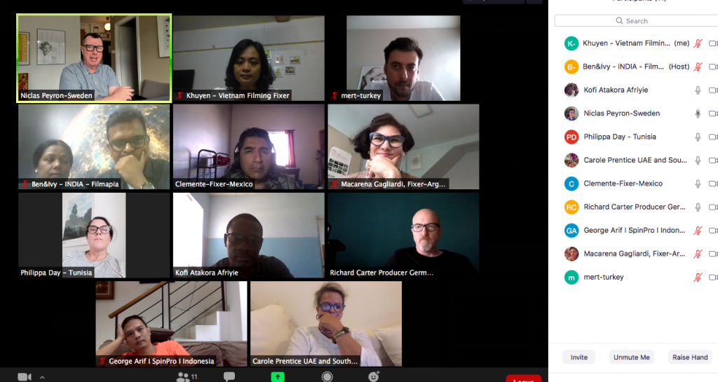 Fixers Of The World - 2nd online meeting