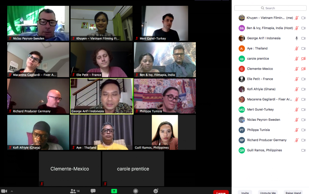fixer of the world 3rd online meeting
